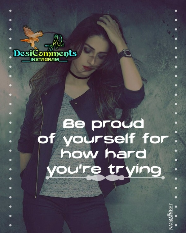 Be Proud Yourself