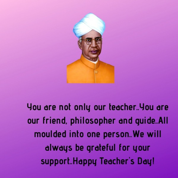 You Are Not Only Our Teacher