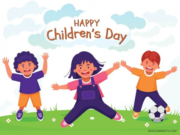Wishing your Happy Childrens Day