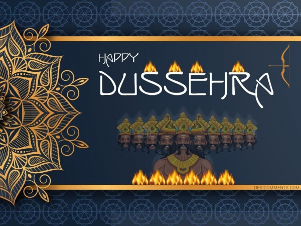 Wishing You A Great Dussehra