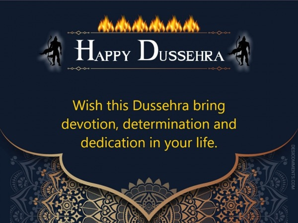 Wish This Dussehra Bring Devotion
