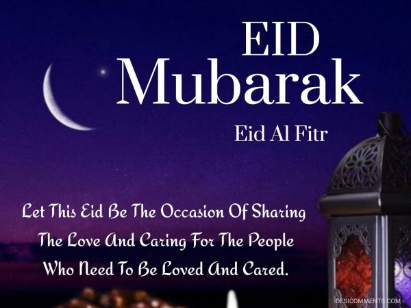 Let This Eid Be The Occasion