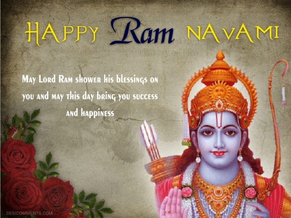 May Lord Ram Shower His Blessings