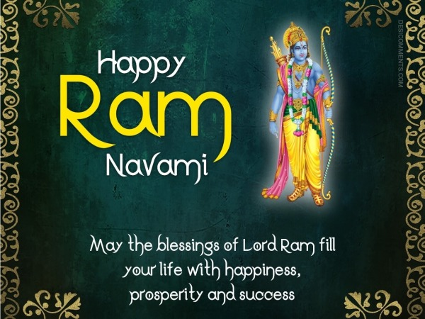 May The Blessings Of Rama