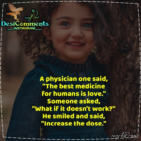 A Physician Once Said