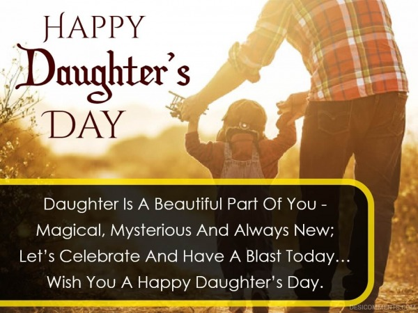 Daughter Is A Beautiful Part Of You