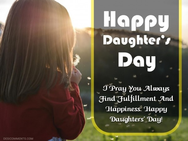Happy Daughter's Day Image