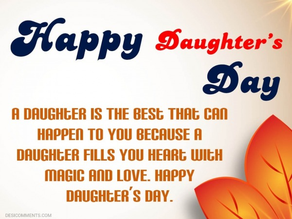 A Daughter Is The Best