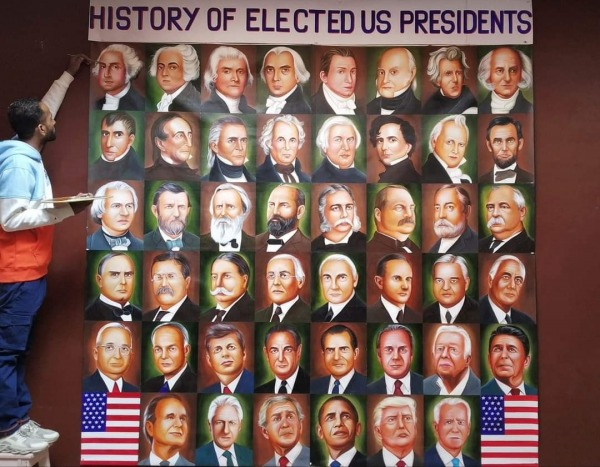 History of Elected US Presidents