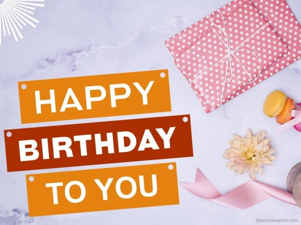 Birthday Greetings With Gifts