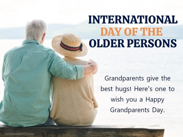 Grandparents Give The Best Hugs