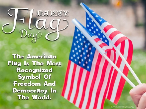 The American Flag Is The Most Recognized Symbol