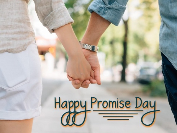 Happy Promise Day Cute Picture