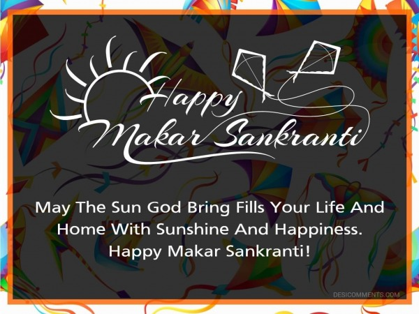May The Sun God Bring Fills Your Life
