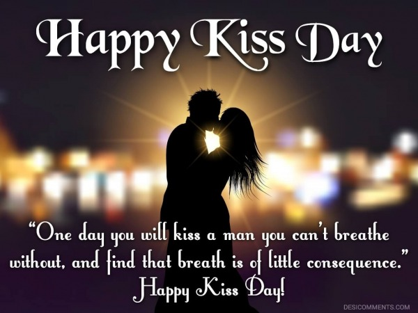 One Day You'll Kiss A Man