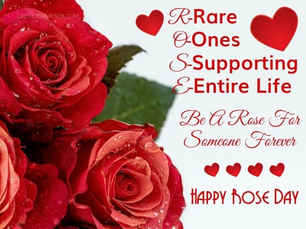 Be A Rose For Someone Forever