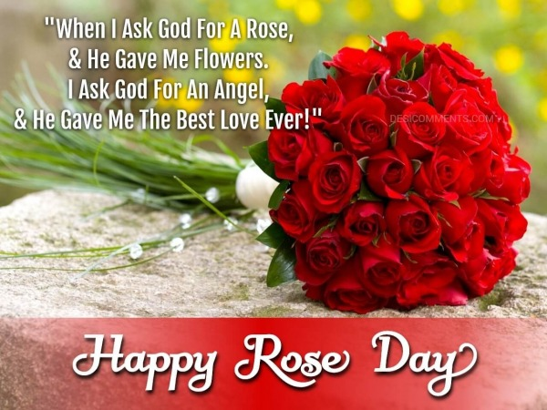 When I Ask God For A Rose