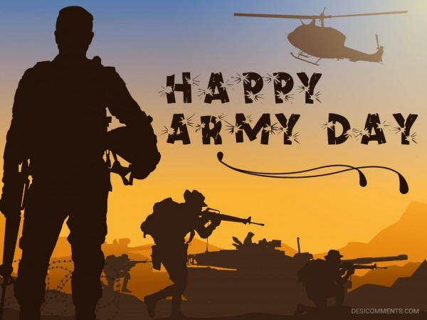 Happy Army Day Wallpaper