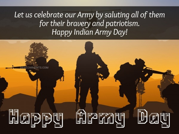 Let Us Celebrate Our Army