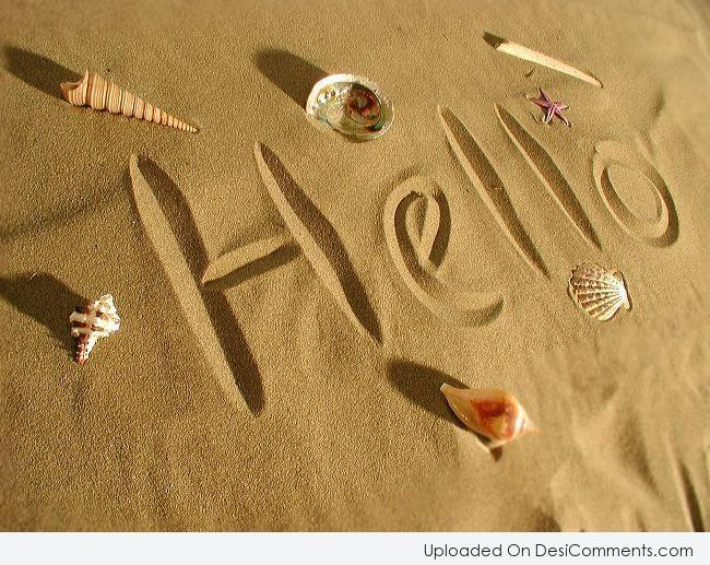 Hello, Hi Pictures, Images, Graphics
