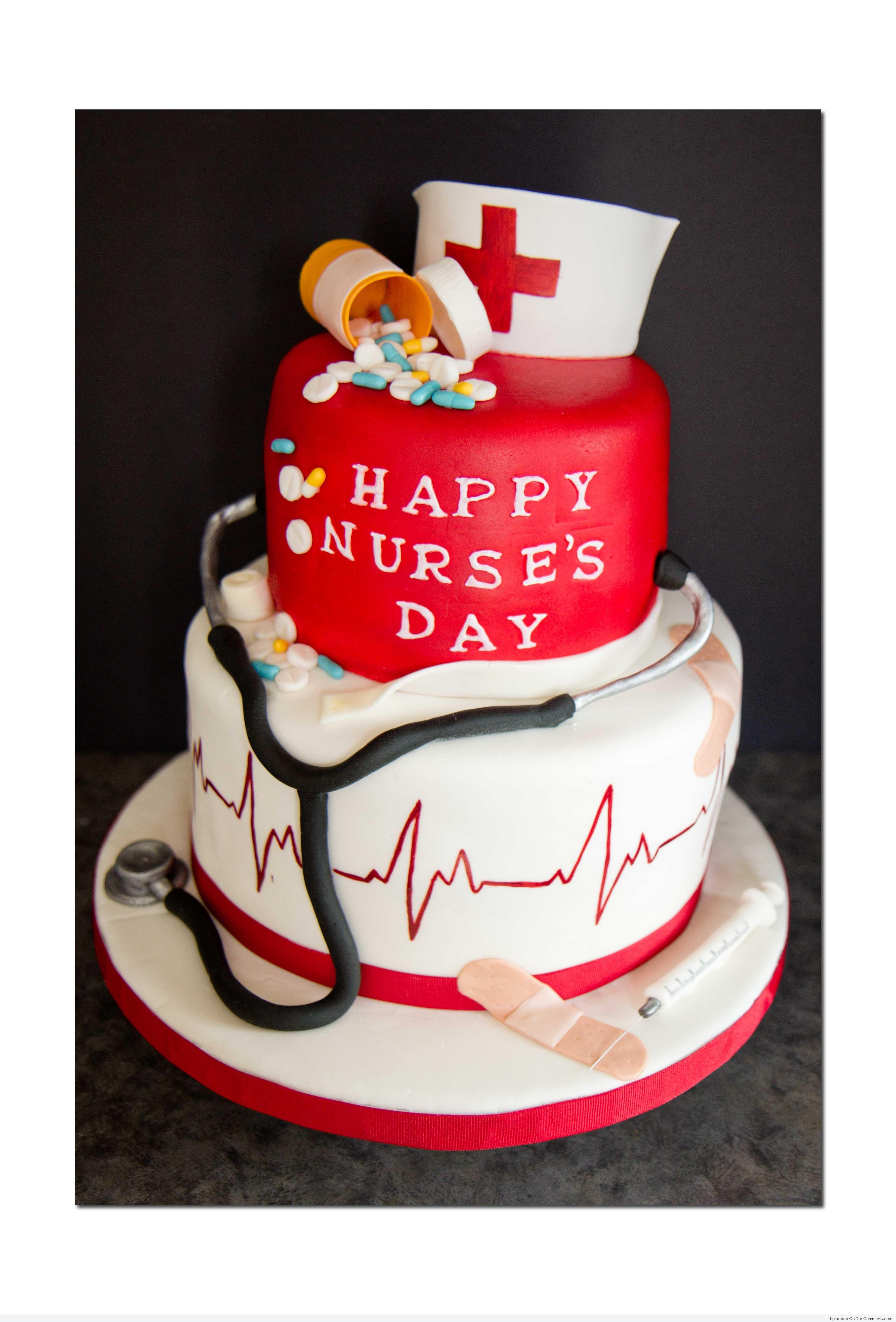 happy nurses day cake desicommentscom
