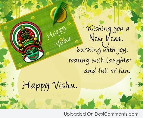 Picture: Wishing You A Happy Vishu