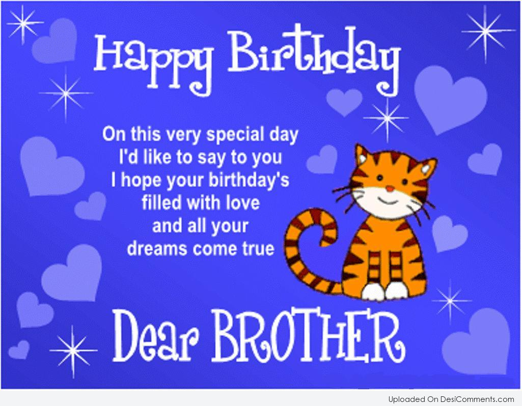 Birthday Wishes For Brother Pictures, Images, Graphics For
