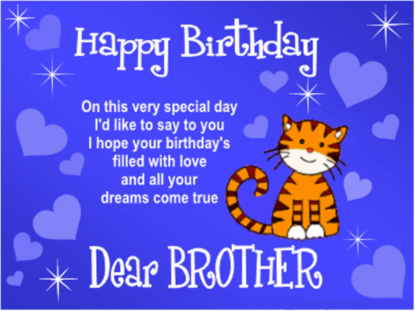 Picture: Happy Birthday Dear Brother