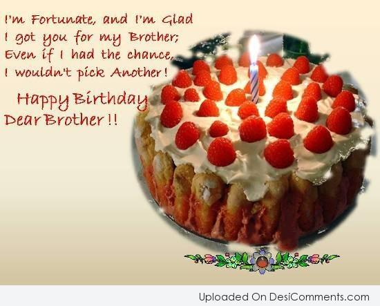 Birthday Wishes for Brother Pictures, Images, Graphics for Facebook ...