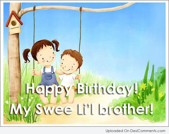 Birthday wishes for brother happy birthday my sweet brother img
