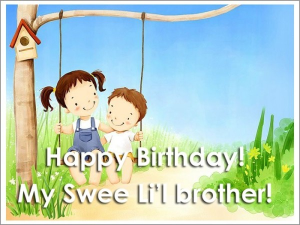 Picture: Happy Birthday My Sweet Brother