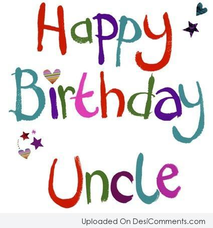 Picture: Happy Birthday Uncle
