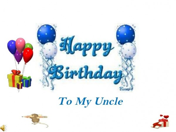 Picture: Happy birthday to my uncle