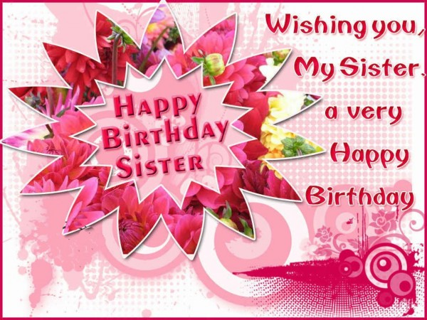 Picture: Happy Birthday Sister