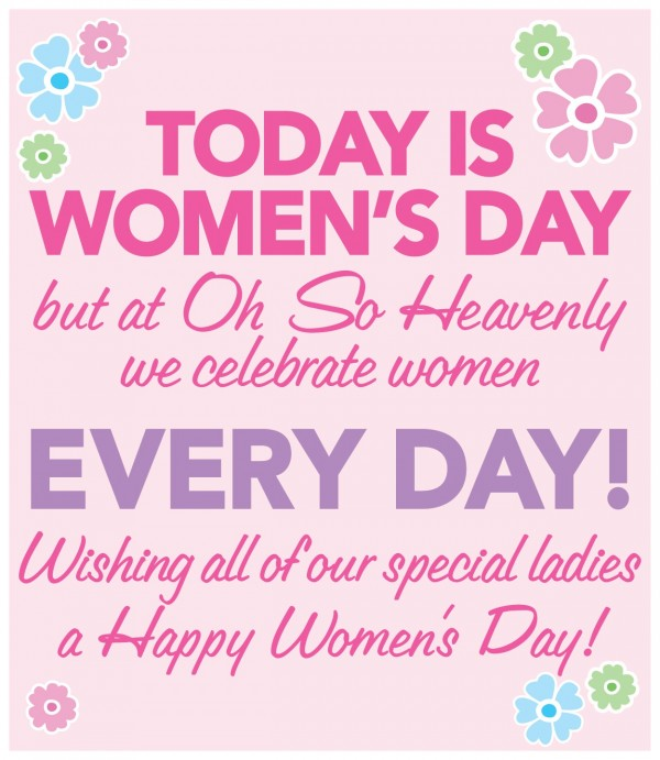 Picture: A Happy Women's Day