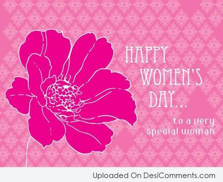 Picture: Happy Women's Day… To A Very Special Woman