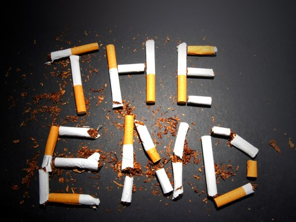 Picture: The End – Smoking