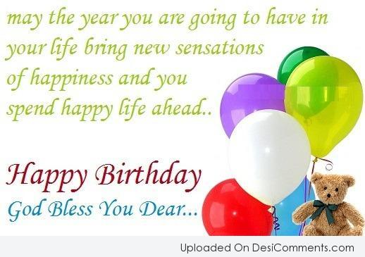 Picture: Happy Birthday Dear