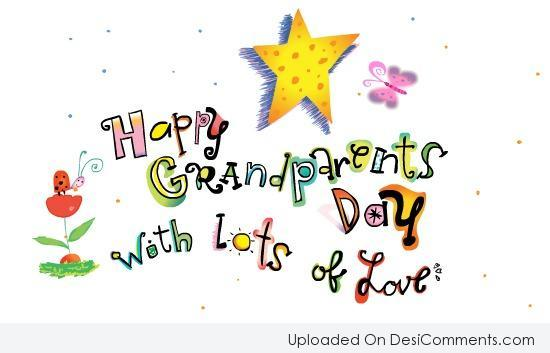 Picture: Happy Grandparents Day with lots of love