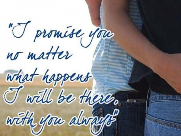 Picture: I Promise You..