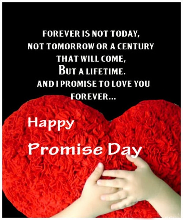 Picture: Happy Promise Day
