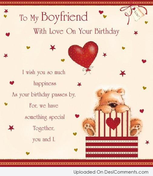 Birthday wishes for boyfriend pictures images graphics page 4 picture to my boyfriend m4hsunfo
