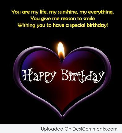 Wishing You To Have A Special Birthday