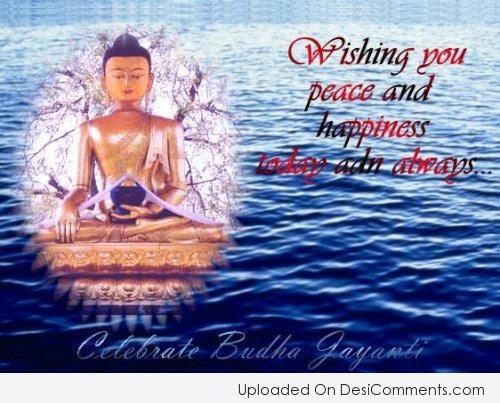 Picture: Wishing You Buddha Jayanti