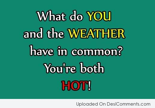 Picture: You're Both Hot