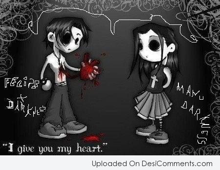 Picture: I Give You My Heart