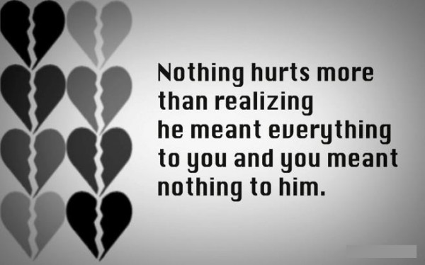 Picture: Nothing To Him