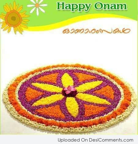 Picture: Happy Onam