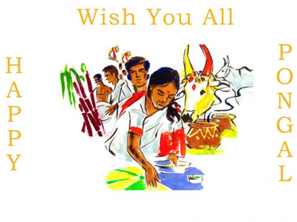 Picture: Wish You All Happy Pongal