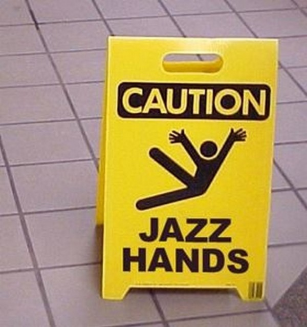 Picture: Caution – Jazz Hands